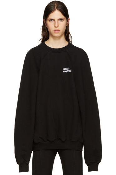 Vetements - Black 'Unidad Hombres' Pullover