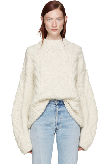 Wendelborn - Ivory Surreal Sweater