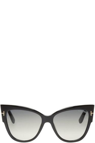 Tom Ford - Black Anoushka Sunglasses