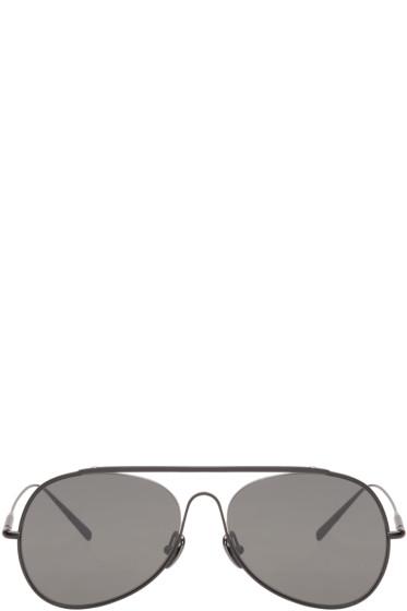 Acne Studios - Black Large Spitfire Sunglasses
