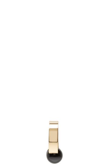 Chloé - Gold & Black Darcey Earring