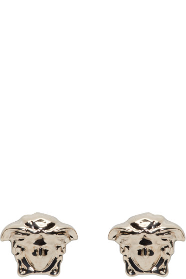 Versace - Gold Medusa Stud Earrings