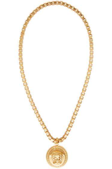 Versace - Gold Medusa Necklace