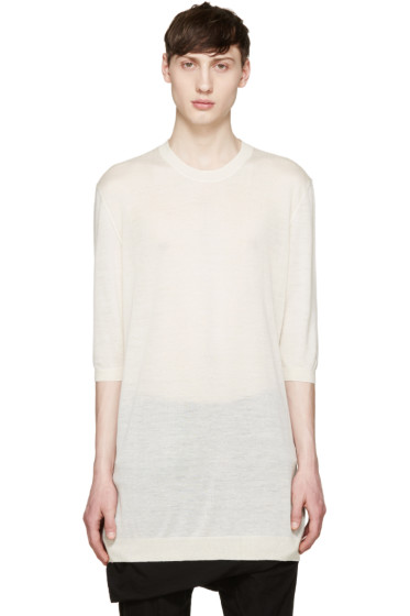 Thamanyah - Ecru Cashmere Sweater
