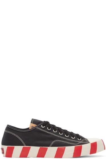 Visvim - Black Skagway Lo Stripes Sneakers