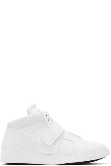 Marcelo Burlon County of Milan - White Libertad Mid-Top Sneakers