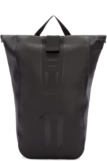 11 by Boris Bidjan Saberi - Black Roll-Top Velocity Backpack