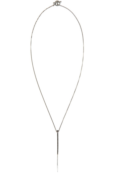 Pearls Before Swine - Silver Forged Thorn Necklace