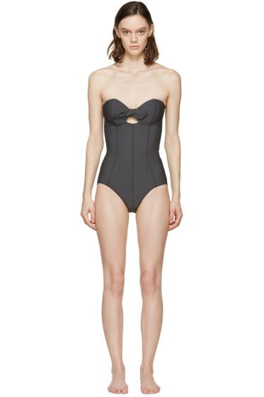 Lisa Marie Fernandez - Black Poppy One-Piece Swimsuit