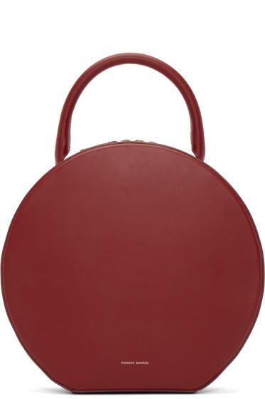 Mansur Gavriel - Red Leather Circle Bag