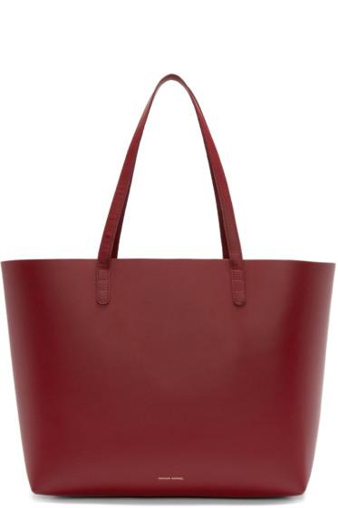 Mansur Gavriel - Red Leather Large Tote