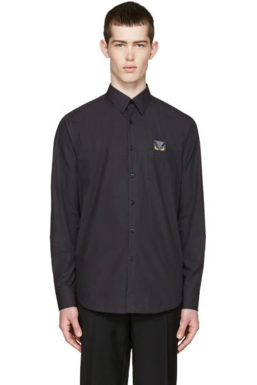 Fendi - Black Pocket Monster Shirt