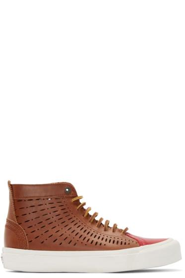 Vans - Brown Taka Hayashi Edition SK8 Nomad LX Sneakers