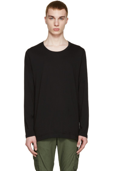 John Elliott - Black Jersey T-Shirt