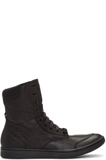 Diesel - Black S-Boulevard High-Top Sneakers