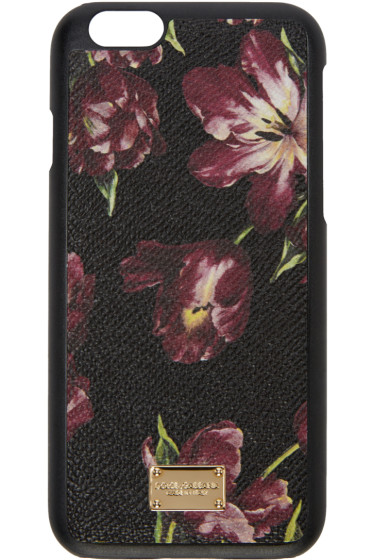 Dolce & Gabbana - Black Tulips iPhone 6 Case