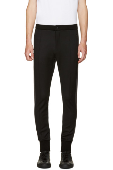 Dolce & Gabbana - Black Cuffed Lounge Pants