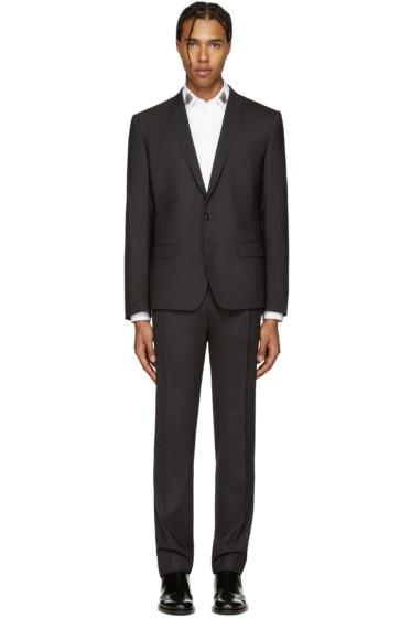Dolce & Gabbana - Grey Wool Martini Suit