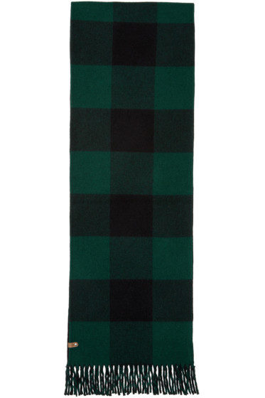 Mackage - Green Langevin Double Face Scarf