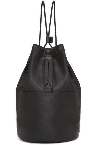 Rag & Bone - Black Leather Walker Backpack