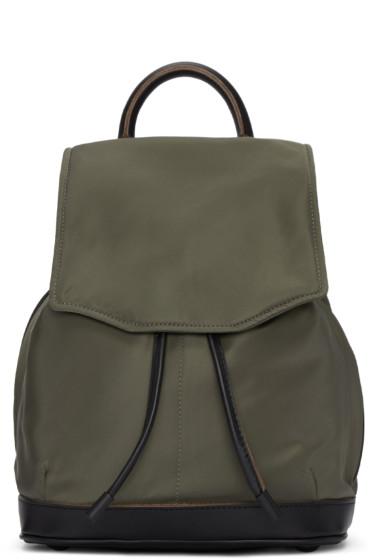 Rag & Bone - Green Mini Pilot Backpack