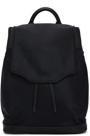 Rag & Bone - Black Nylon Pilot Backpack