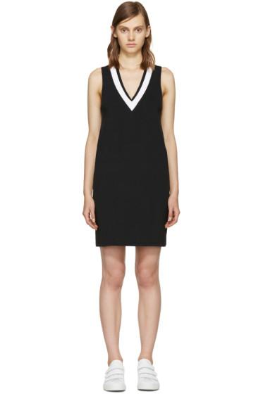Rag & Bone - Black & White Ainsley Knit Dress