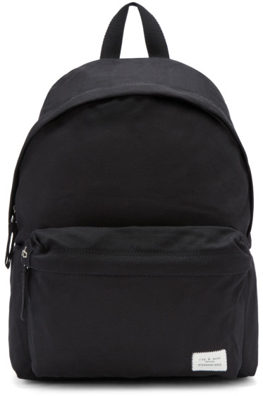 Rag & Bone - Black Standard Issue Backpack