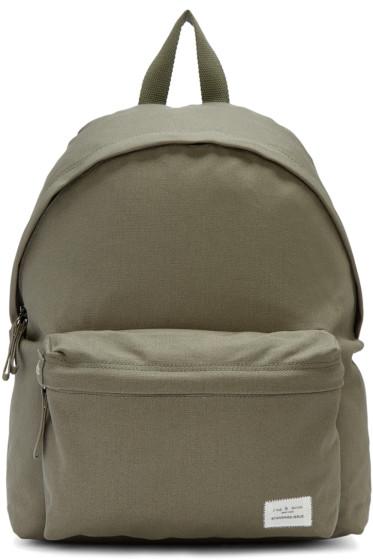 Rag & Bone - Green Standard Issue Backpack