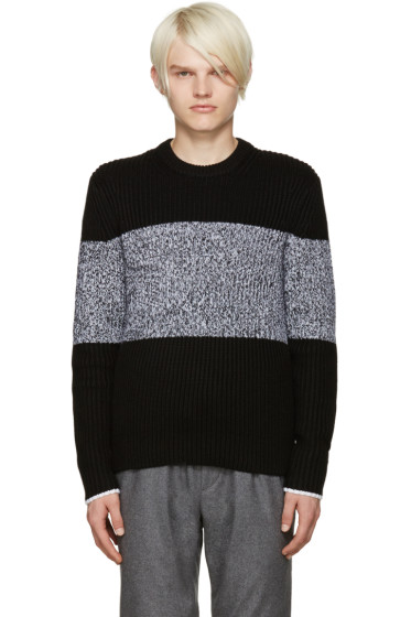 Rag & Bone - Black Roscoe Sweater