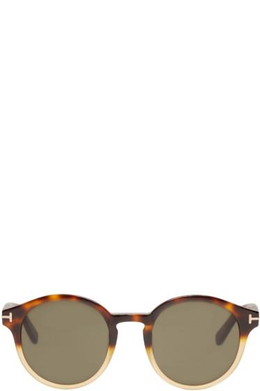 Tom Ford - Tortoiseshell Lucho Sunglasses