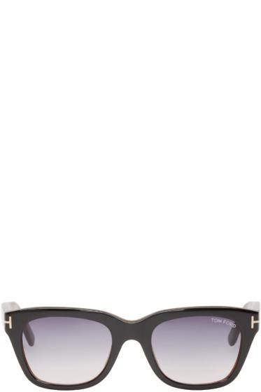 Tom Ford - Black Snowdon Sunglasses