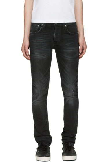 Nudie Jeans - Black Grim Tim Jeans