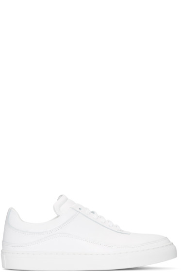 Public School - White Braeburn Sneakers