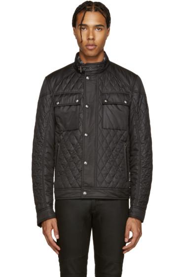 Belstaff - Black Quilted Racemaster Jacket