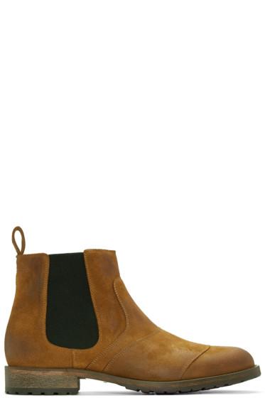 Belstaff - Brown Lancaster Chelsea Boots