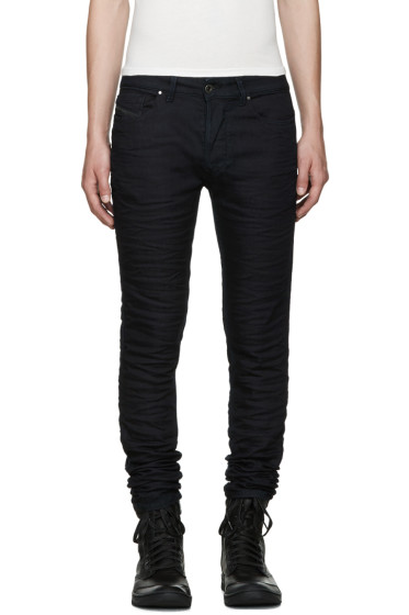 Diesel Black Gold - Blue Stretch Skinny Jeans