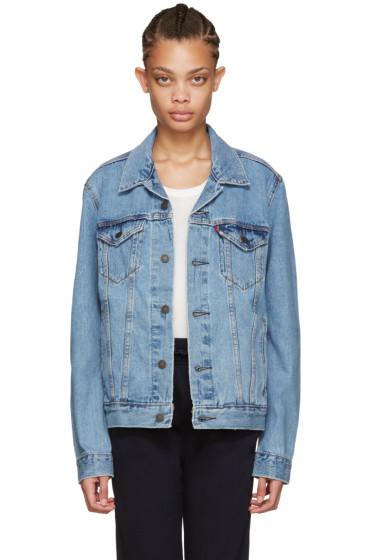 Levi's - Blue Denim Trucker Jacket