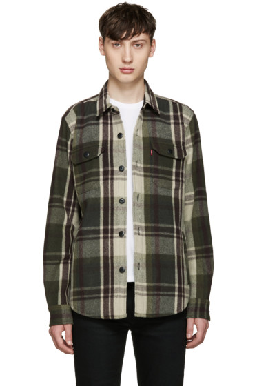 Levi's - Green Wool Worker Jacket
