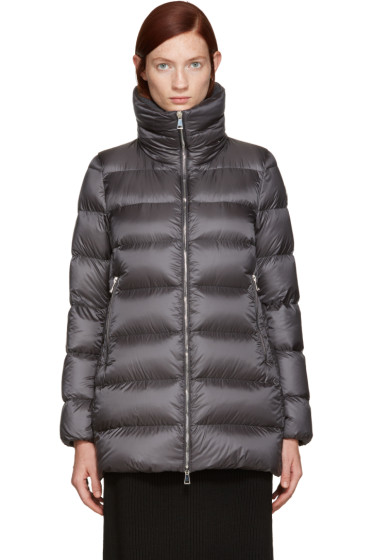 Moncler - Grey Down Torcyn Coat