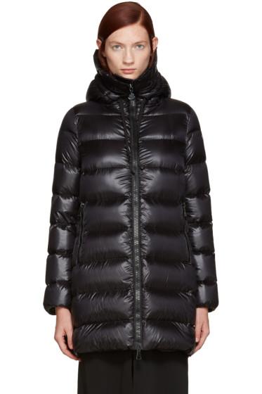 Moncler - Black Down Suyen Coat