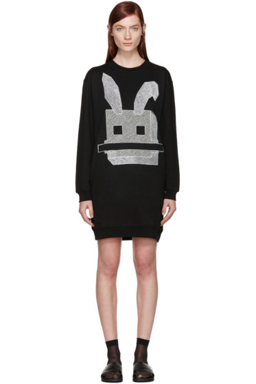 McQ Alexander Mcqueen - Black Bunny Dress