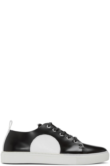 McQ Alexander Mcqueen - Black & White Chris Sneakers