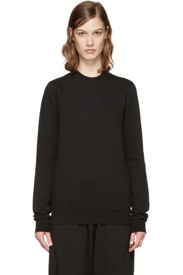 Rick Owens Drkshdw - Black Cotton Pullover