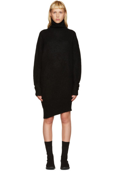 Acne Studios - Black Mohair Daija Dress