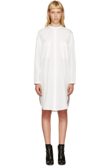 Acne Studios - White Poplin Esloane Dress