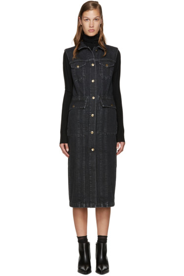 Acne Studios - Black Denim Genta Dress