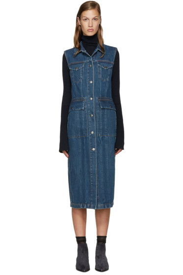 Acne Studios - Blue Denim Genta Dress