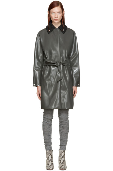 Acne Studios - Grey Blanky Varnish Coat