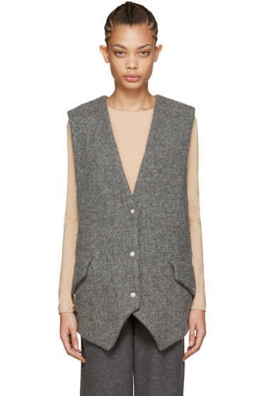 Acne Studios - Grey Wool Vest